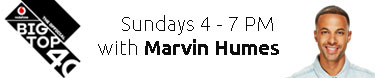 The Big Top 40 Show This Sunday with Marvin Humes